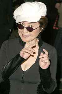 Йоко Оно признали важнейшей художницей нашего времени