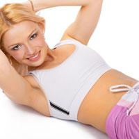 9 упражнений для красивого пресса на животе