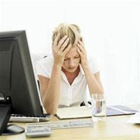 30 % работников офисов на грани срыва нервной системы