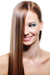 Как правильно выравнивать волосы