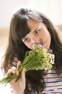 Цветочные ароматы ослабляют стресс