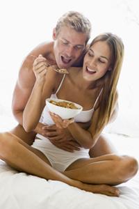 Сексуальное настроение: что съесть перед сексом?
