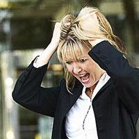 Женщины в состоянии стресса отталкивают мужчин