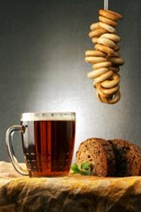 Кабы хлеб да квас, так и все у нас!