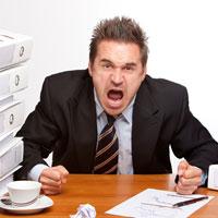 В состоянии стресса человек плохо контролирует свои эмоции