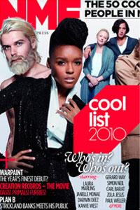 NME составил список самых крутых музыкантов 2010 года