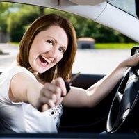 Комплекс упражнений для женщин за рулём