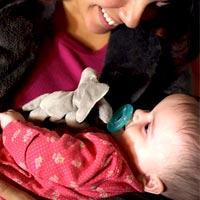 Как уложить малыша спать без капризов