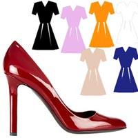 Новогодний наряд: какой цвет туфель выбрать (фото)