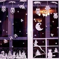 Украшаем окна на Новый Год (фото)