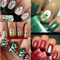Новогодний дизайн ногтей (фото)