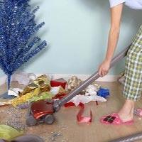 Женщины тратят два года своей жизни на предновогоднюю уборку