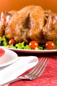 Праздничные блюда из птицы
