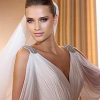 Cвадебная мода 2014: платья в греческом стиле (фото)