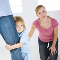 Воспитание детей в первое время после развода