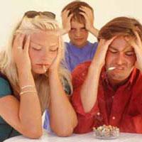 Курение при детях опасно для их интеллекта