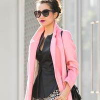 Тренд весенней моды 2014: розовое пальто (фото)