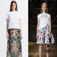 Модные юбки весна-лето 2014 (фото)