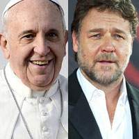 Рассел Кроу не добился благословения Ноя от Папы Римского
