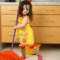 5 правил - как приучить ребенка к домашним обязанностям