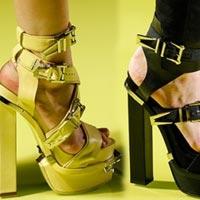 Модные туфли весна-лето 2014: осторожно – эпатаж (24 фото)