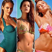 Апрельский лукбук купальников 2014 года от Victoria's Secret (21 фото)