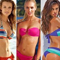 Знаменитости в модных купальниках 2014 года (21 фото)