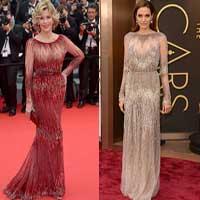 Битва платьев: Джейн Фонда против Анджелины Джоли (фото)