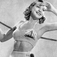 Пляжная мода 20-30-х годов XX века (24 фото)