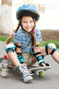 Прививаем детям полезные «летние» привычки