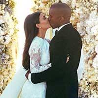 Стало известно, во сколько обошлась свадьба Ким Кардашьян