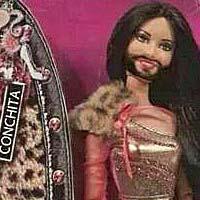 Из Кончиты Вурст сделали Барби
