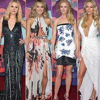 Звездные наряды на торжественной церемонии вручения премий 2014 CMT Music Awards (22 фото)