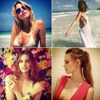 Instagram знаменитых топ-моделей (14 фото)