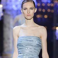 Неделя высокой моды в Париже: платья для принцесс от Elie Saab (20 фото)