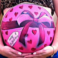 Боди-арт на животиках беременных женщин (19 фото)