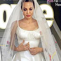 Анджелина Джоли и Брэд Питт продали свадебные фото за 5 млн дол.