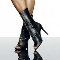 Алессандра Амбросио в осенней коллекции обуви Schutz 2014 (9 фото)