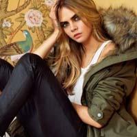 Кара Делевинь в осенне коллекции Topshop 2014 (12 фото)
