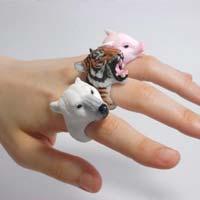 Тренд сезона: удивительные зверокольца из Японии (фото)