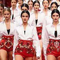 Dolce & Gabbana представили цвет сезона весна-лето 2015 (30 фото)