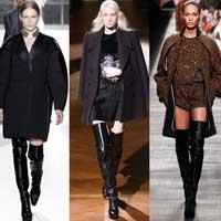 Хиты сезона: модные ботфорты и высокие сапоги в стиле 60-х (15 фото)