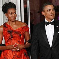 Битва платьев: Мишель Обама против Амаль Аламуддин (фото)