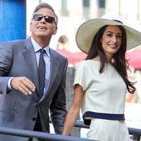 Джордж Клуни и Амаль Аламуддин проводят медовый месяц на Сейшелах