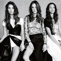 Ангелы Victoria's Secret в фотосессии для британского Vogue (10 фото)