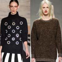 Объёмный свитер: тренд сезона осень-зима (10 фото)