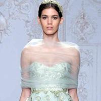 Новая коллекция свадебных платьев от Monique Lhuillier (12 фото)