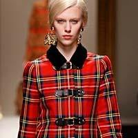 Элегантность от Versace: модные пальто осень-зима 2014-2015 (19 фото)