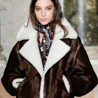 Дубленки из овчины: модный тренд 2015 года (19 фото)