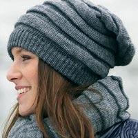 Модные вязаные шапки: зима 2015 (фото)